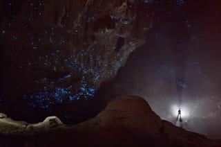 Illustration for article titled Mintha a csillagokat látnánk, de ez egy barlang