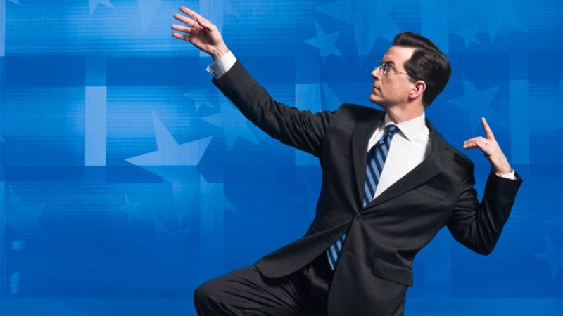 Illustration for article titled The Colbert Report - Week of Dec. 5, 2011