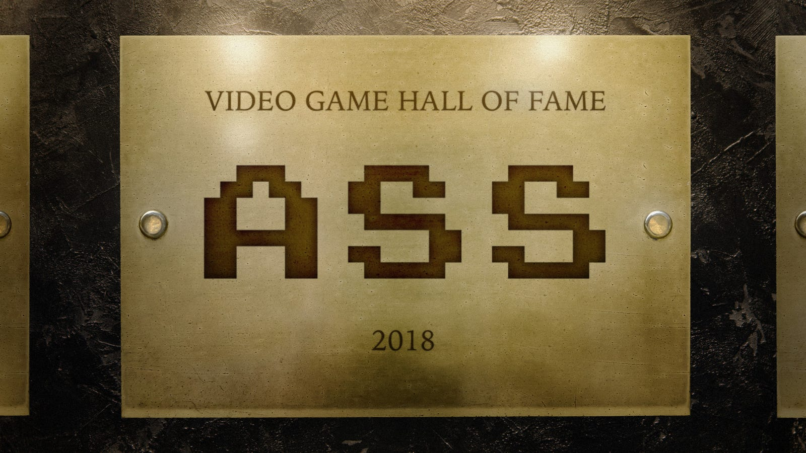 'ASS' Finally Inducted Into Video Game Hall Of Fame