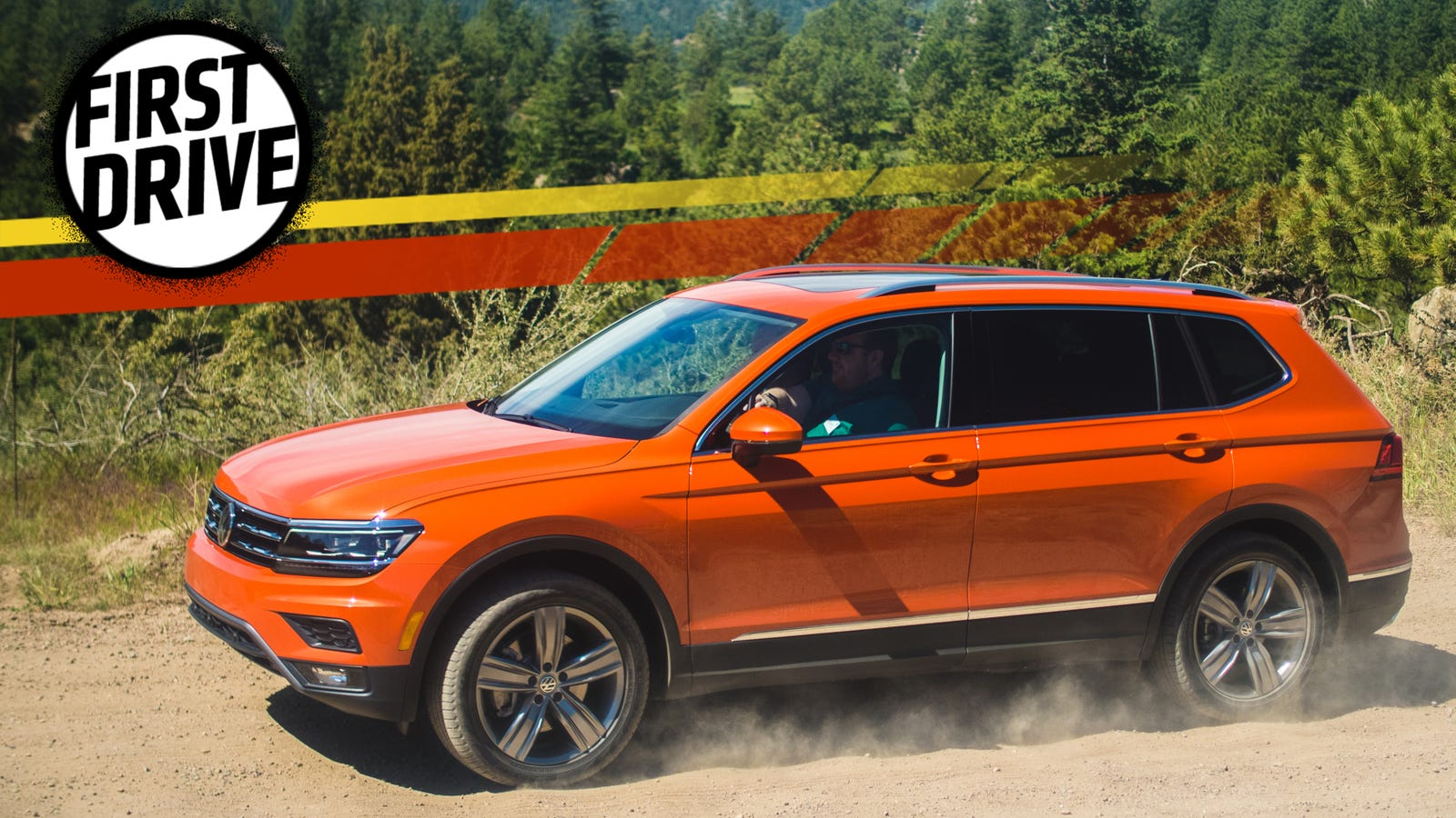 The 2018 Volkswagen Tiguan Is Sterile But Has A Third Row
