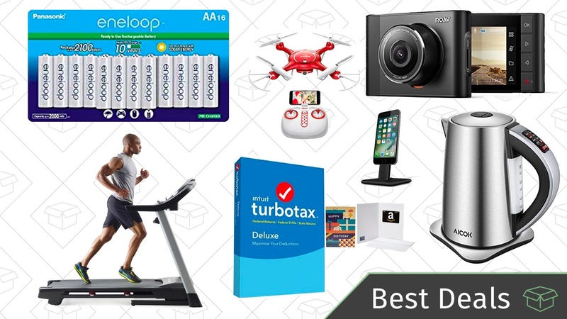 Thursday's Best Deals: Eneloop Batteries, TurboTax Software