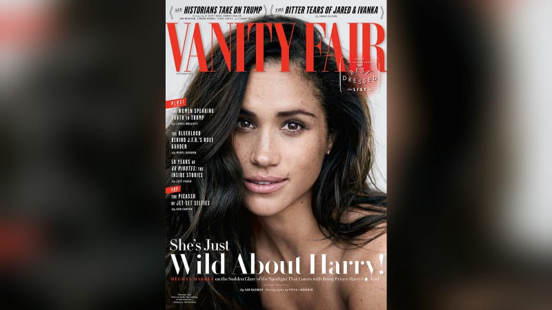 Illustration for article titled Here We Go: Meghan Markle Is On the Cover of Vanity Fair