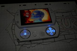 Illustration for article titled Yet Another PSPGo Mod Blinds You With LEDs