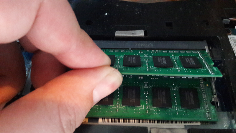 Disclaimer: Do not actually ram your RAM in.