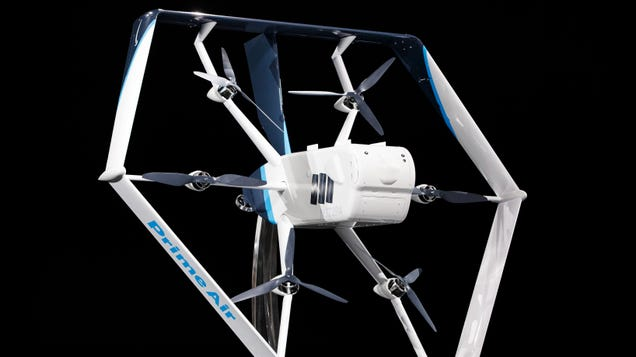 The FAA Cleared Amazon s Drone Fleet, So We re a Step Closer to Commerce Hell