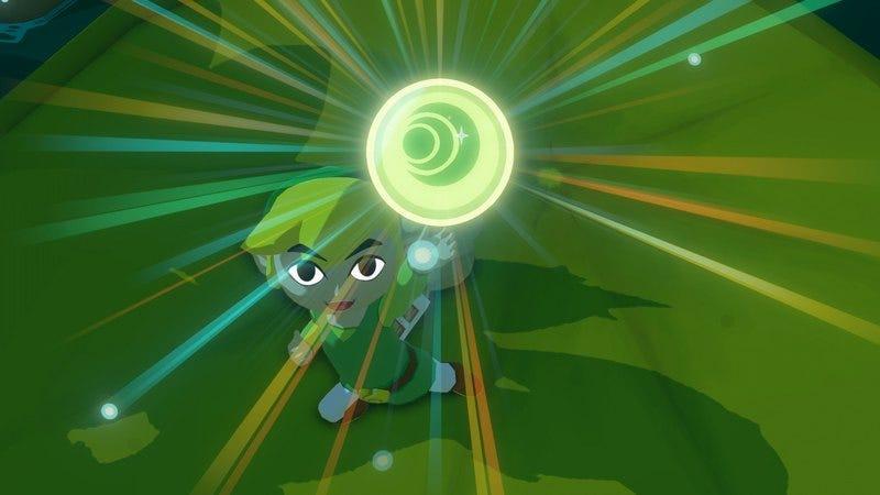 Screenshot: The Legend Of Zelda: The Wind Waker HD/Nintendo