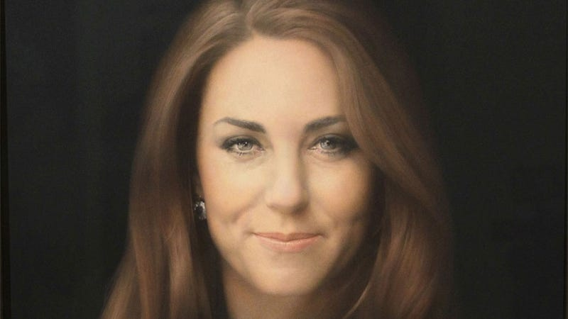 Illustration for article titled Do You Think Kate Middleton Cried After Seeing Her First Official Portrait?