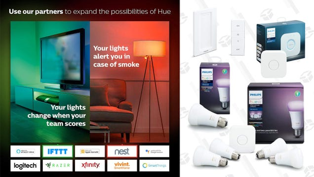 Here s a Great Sale to Start Your Philips Hue Collection