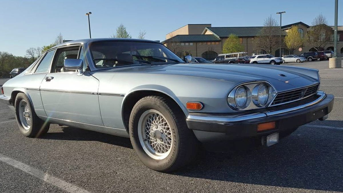 For $4,800, Could This 1990 Jaguar XJS With A Chevy V8 Be The Cat\'s ...
