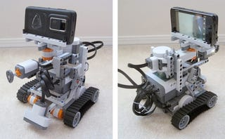 Illustration for article titled Niko The Nokia N900-Powered Lego Mindstorms Robot Receives Commands From Twitter