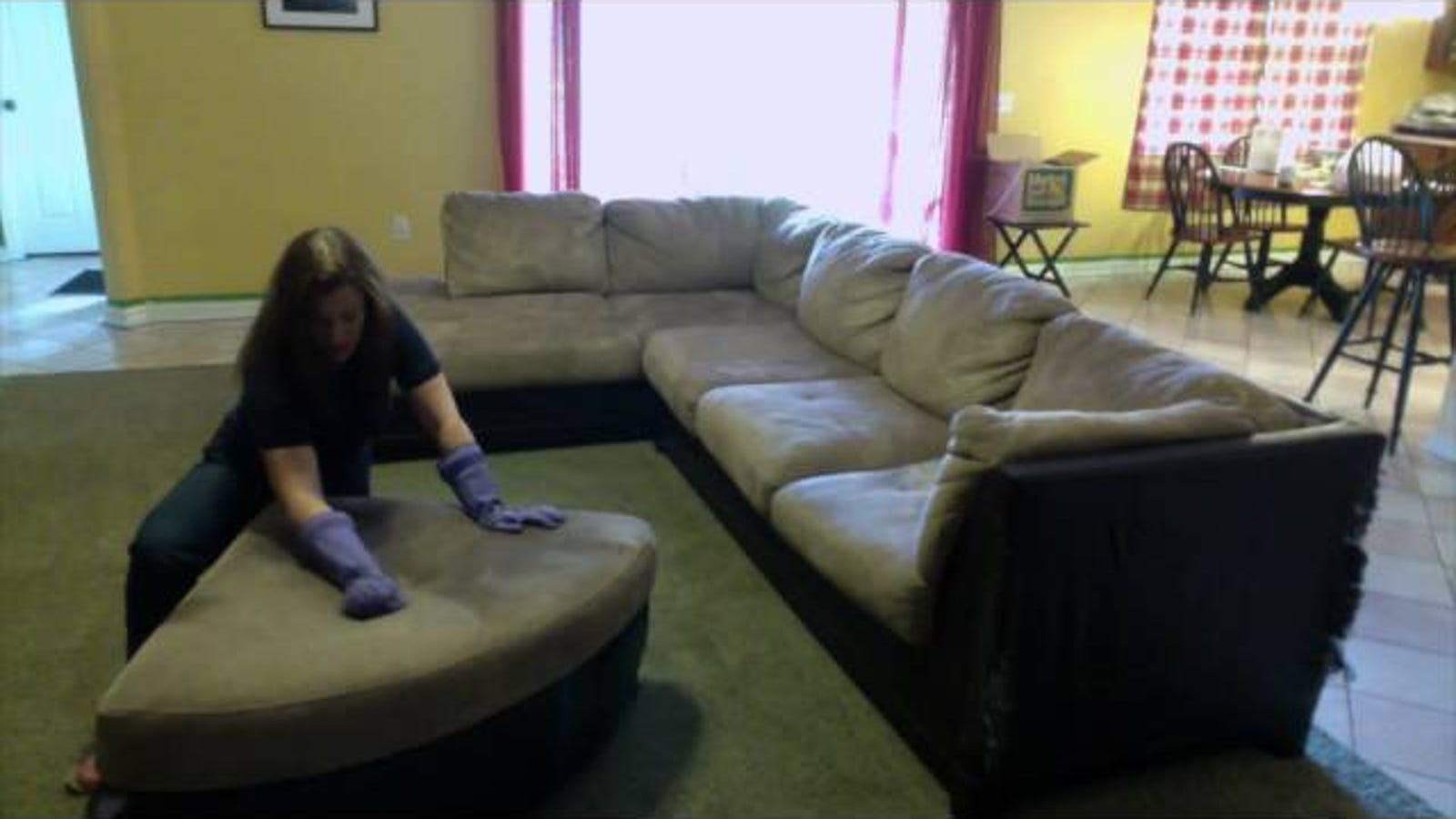 Remove Stains From A Microfiber Couch With Water Or