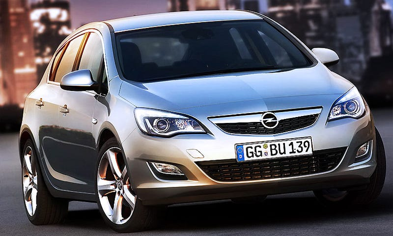Illustration for article titled 2010 Opel Astra: Cruze, Volt Get A German Brother