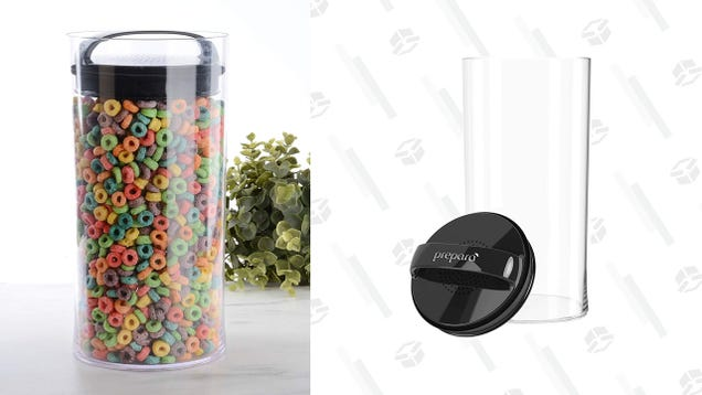 Keep the Air Out and Your Food Fresh With These Discounted Prepara Evak Containers