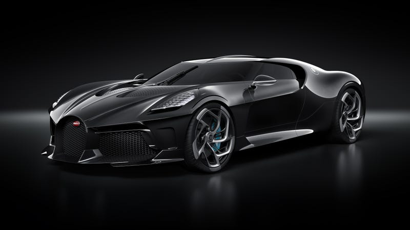 Illustration for article titled The $12.5 Million Bugatti La Voiture Noire Won't Actually Be Done for at Least Another Two Years