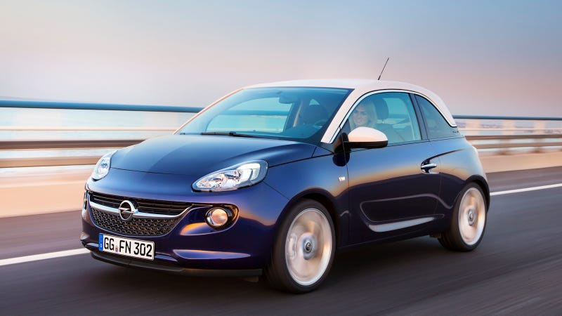 Illustration for article titled Opel Might Sell The Adam In America As A Buick