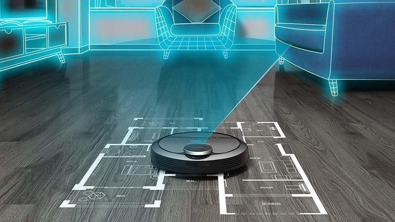 ECOVACS DEEBOT 901 Robotic Vacuum | $300 | Amazon