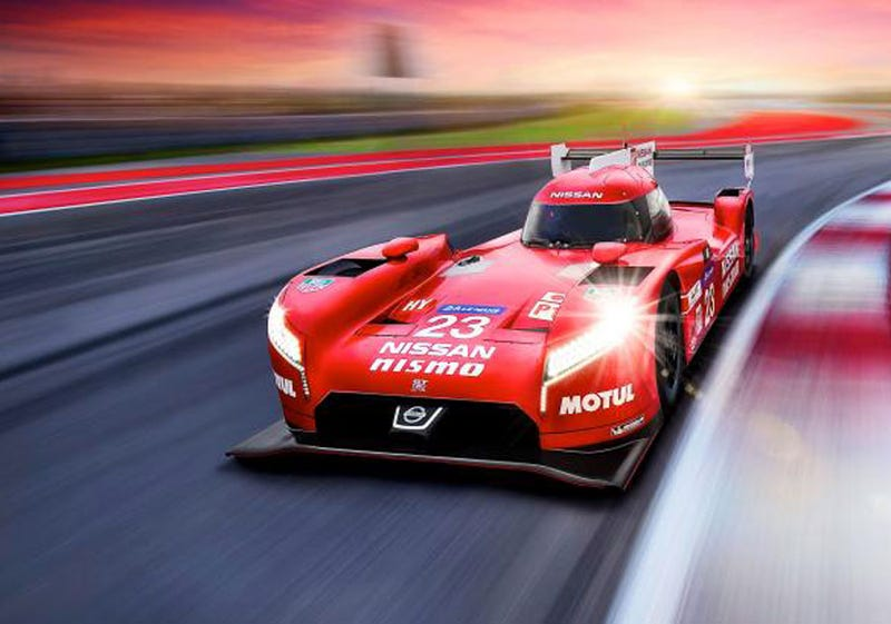 Illustration for article titled Attention Ferrari. Nissan NISMO now owns RED.