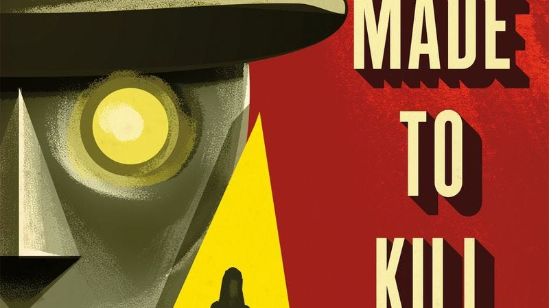 Illustration for article titled Enter to win a signed copy of Adam Christopher's sci-fi-noir novel Made To Kill