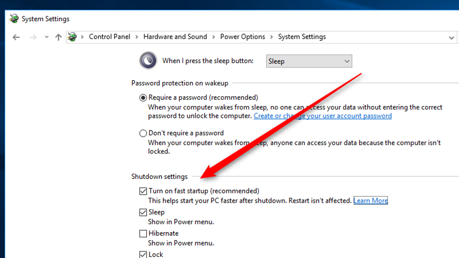 Enable This Setting to Make Windows 10 Boot Up Faster