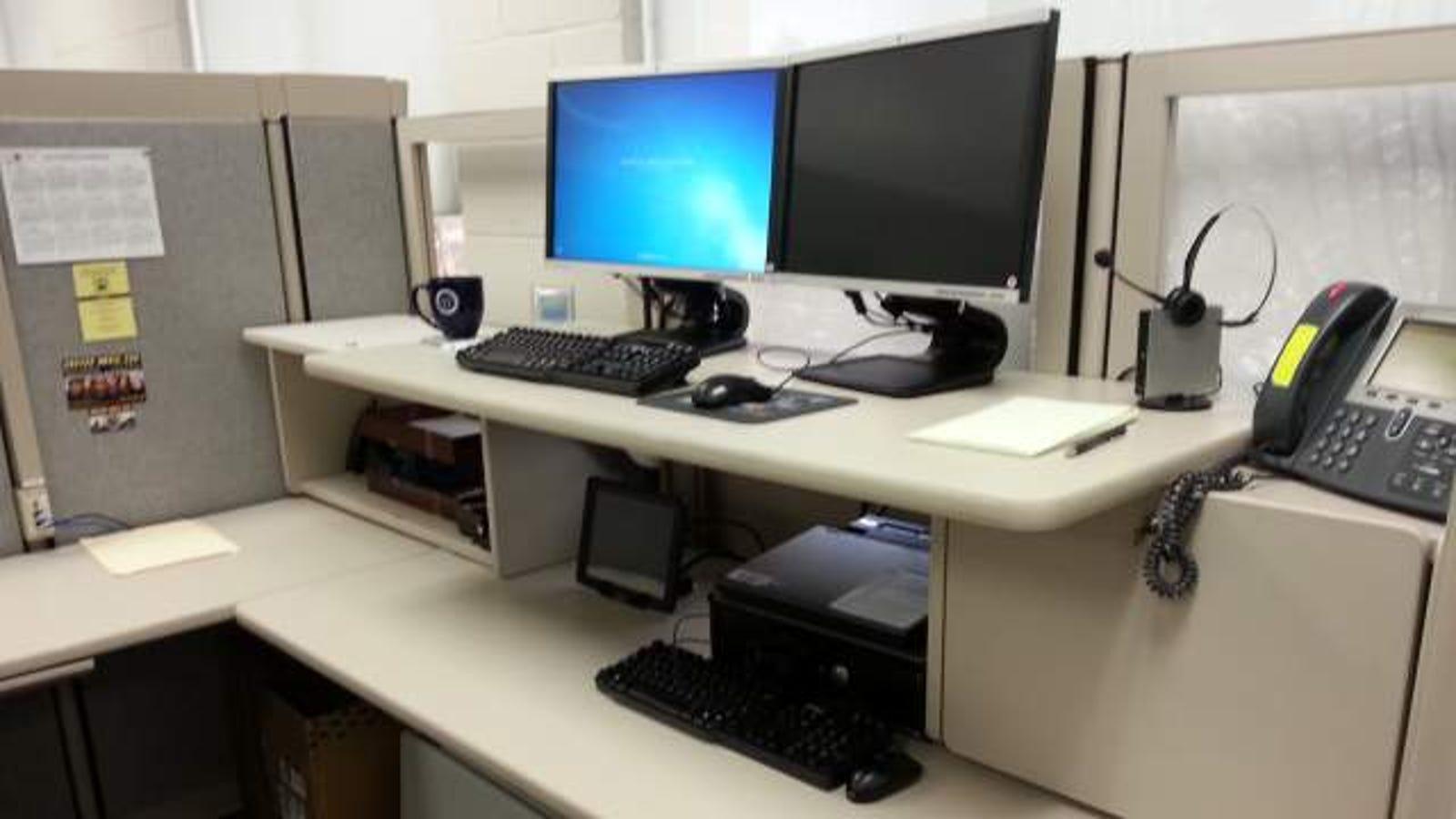 Desk Organization Office At Work Diy