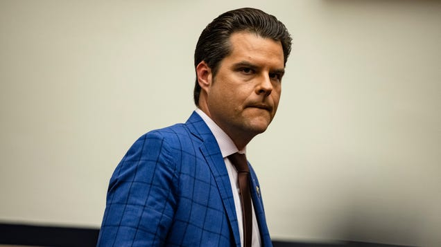 These Text Message Receipts Reportedly Led Feds to Rep. Matt Gaetz