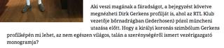 Illustration for article titled Sixx Zsuppánnak: te sötét Fidesz seggét nyaló gyökér, te