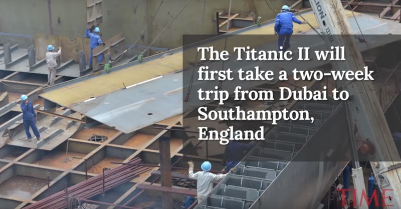 Illustration for article titled Titanic II, A Replica of The Original Titanic, Is Set To Sail in 2022 And Will Be The Whitest Thing That Ever Happened