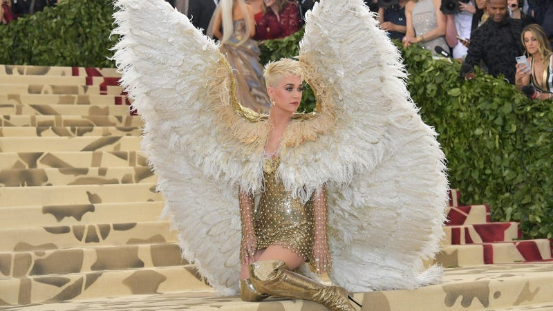 Katy Perry at the Met Gala.