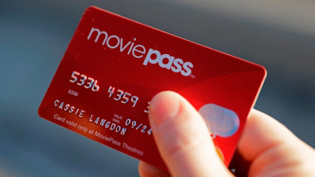 MoviePass Changed User Passwords and Activated a 'Trip Wire' to Prevent User Access