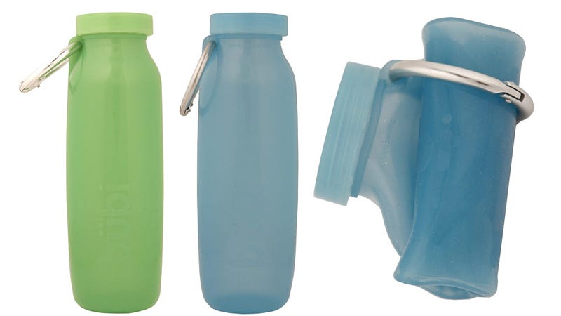 Roll-Up Bottle Is Big When You Need it, Small When You Don't