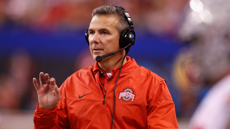 Illustration for article titled Ohio State Puts Urban Meyer On Paid Leave Amid School's Investigation Of Zach Smith