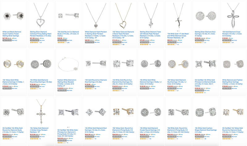 Mother's Day Diamond Jewelry Sale