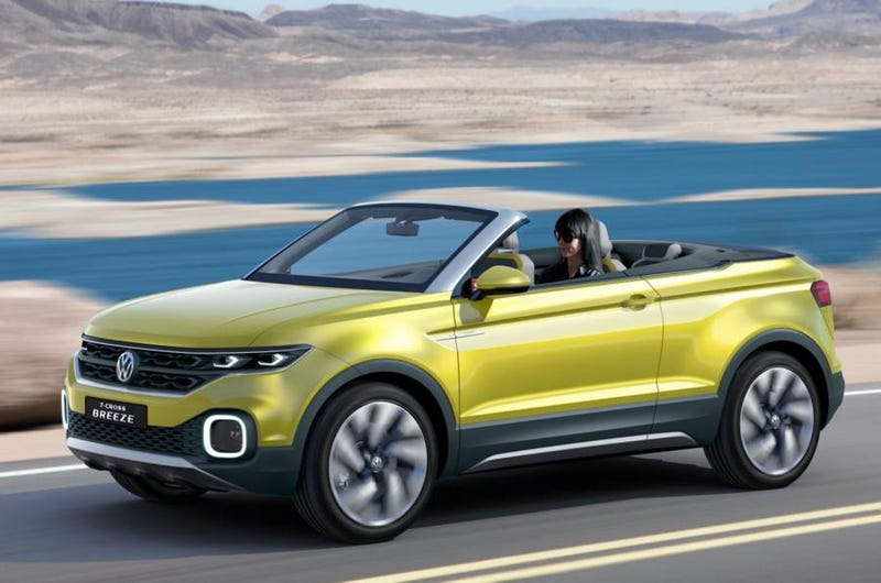 Illustration for article titled Convertible crossovers seem to be the next big thing(or fad)