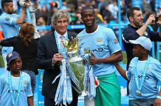 Illustration for article titled Yaya Touré Wants To Go Home Because Nobody Made Him A Birthday Cake