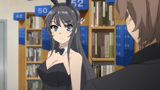 Illustration for article titled Enjoy the english subbed promo of the anime of Rascal Does Not Dream of Bunny Girl Senpai