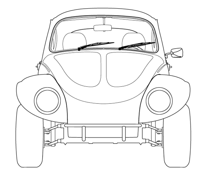 Illustration for article titled Should the Baja Bug have lights on Top?