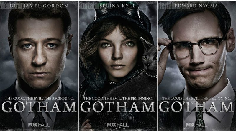 new gotham posters are great except for poison ivys