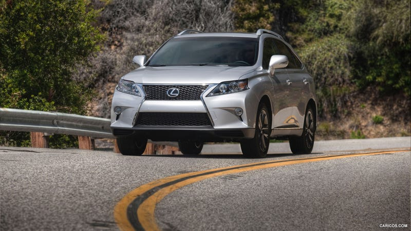 Illustration for article titled New Lexus RX To Debut At NAIAS In January
