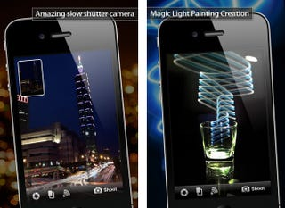Illustration for article titled Your iPhone Takes Stirring Long-Exposure Photos With This Magic App