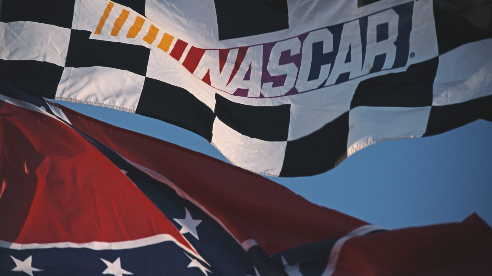 NASCAR Confirms That It's Still The Favorite Sport of White Supremacy