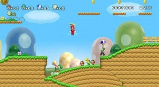 Illustration for article titled Fils-Aime: New Super Mario Bros. Wii Will Outsell MW2 — with One Stipulation