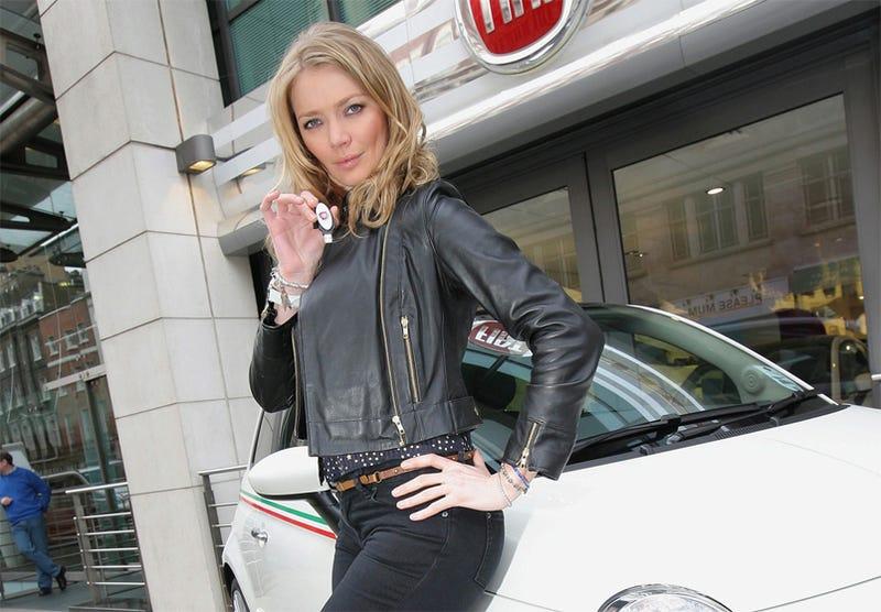 Illustration for article titled Supermodel Jodie Kidd Eco Test Drives Fiat 500