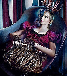 Illustration for article titled Psychedelic Rainbow Monogram Madonna Louis Vuitton Campaign Leaks