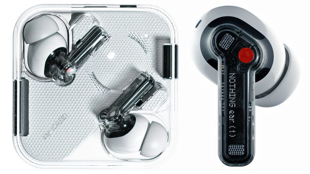 Nothing's Long-Awaited Wireless Earbuds Are Here and They're Clear