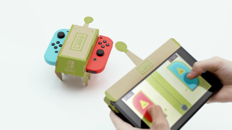 Illustration for article titled Nintendo Announces Nintendo Labo, A Wild New Experiment For Switch