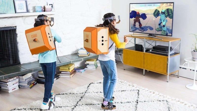 Nintendo Labo Robot Kit | $60 | Amazon