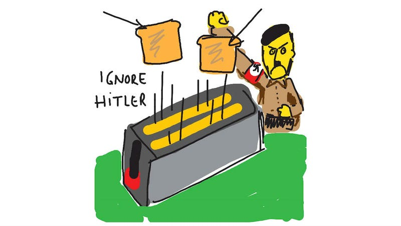 Illustration for article titled Ignore Hitler When You Play Draw Something With This Guy