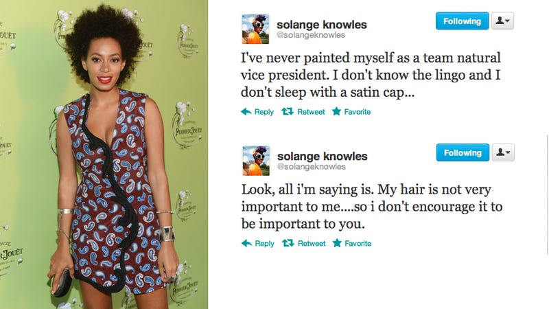 Illustration for article titled Why is Everyone Hating on Solange Knowles' Natural Hair?