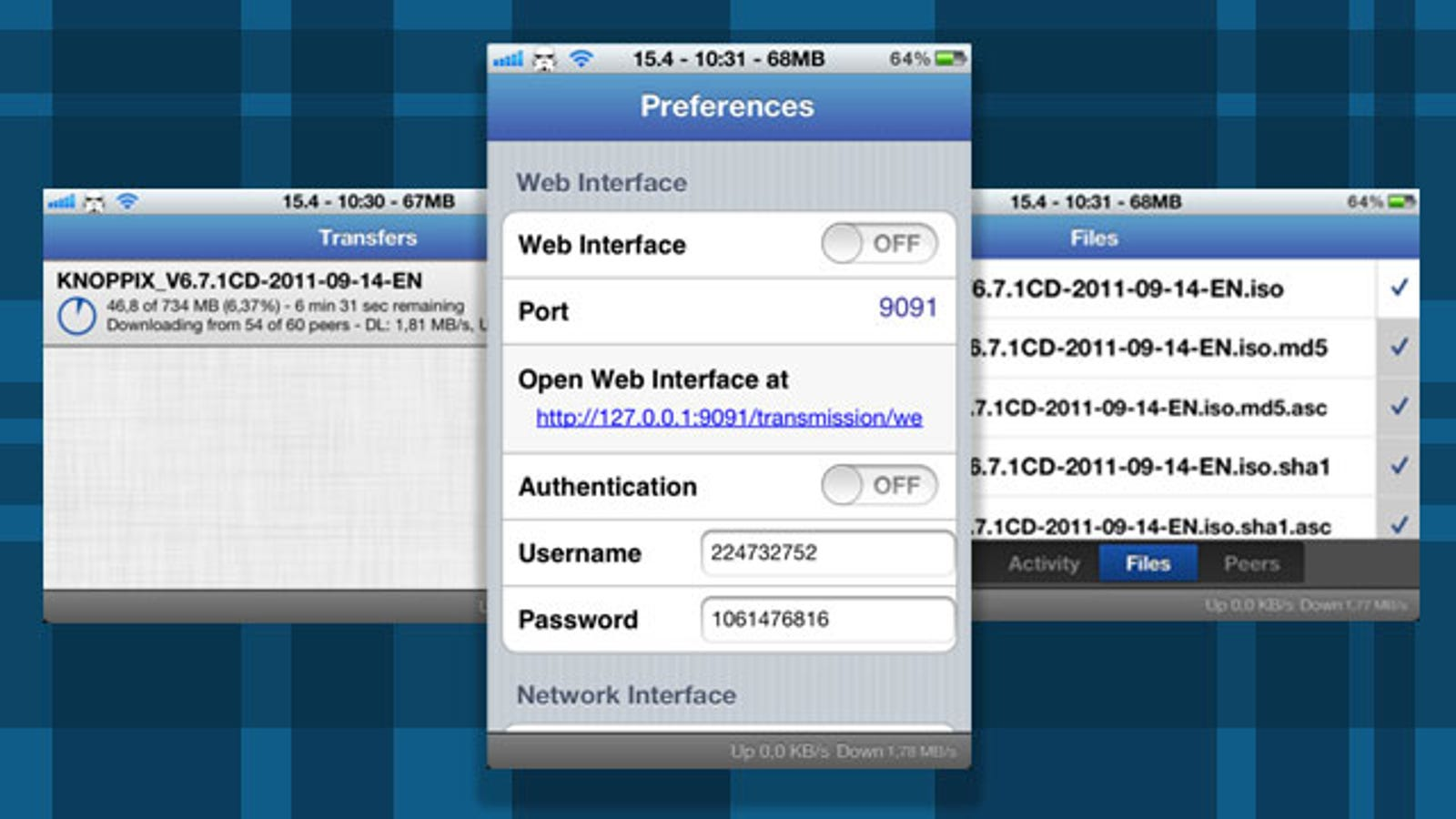 iTransmission Updates with Support for iOS 5 and New