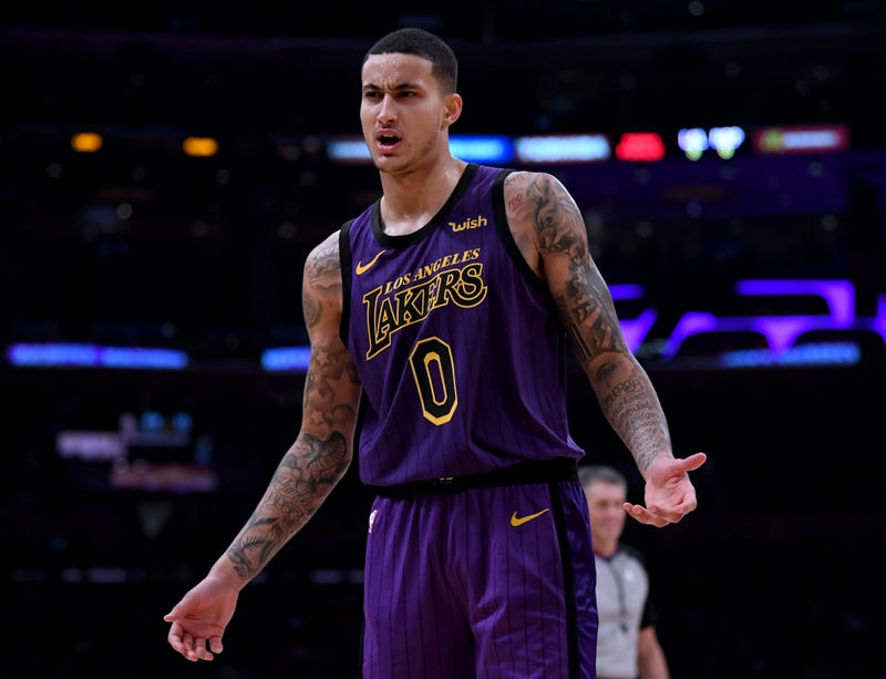 Illustration for article titled Kyle Kuzma Is Making The Most Of His Chance To Lead The LeBron-Less Lakers